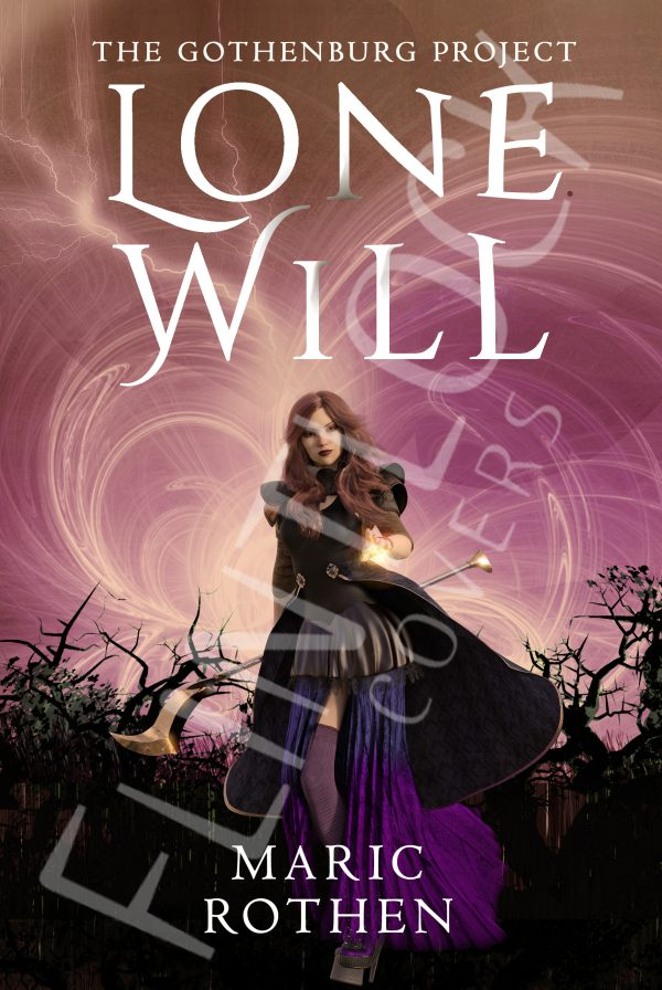 lone-will Fantasy Book cover Design