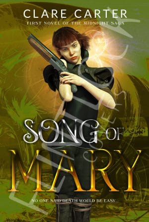 song-mary Fantasy Book Cover Design