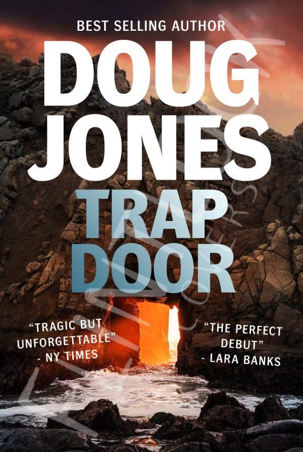 trapdoor Thriller Crime Book Cover Design